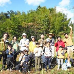自然農&稲刈り・脱穀編 レポート1 手づくり循環生活体験会