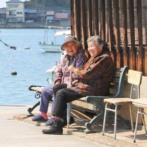 鞆の浦のおばあちゃん