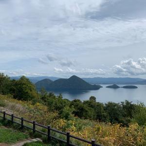 洞爺湖へ♫
