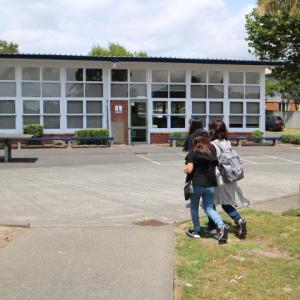 抜群の環境に恵まれたうえに、献身的な留学生担当がいる中学校に入学しました