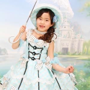 蒼のドレス