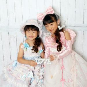 753 七五三 七歳女の子 姉妹