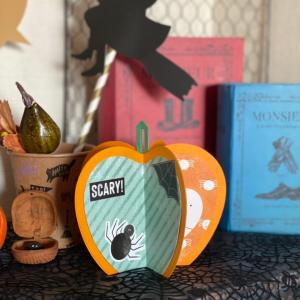 同時にできちゃう!かぼちゃオブジェ&アルバムページ