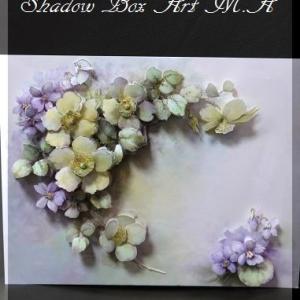 素敵な! 野ばら・スミレ&ポットのお花~♪