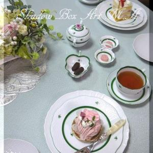 桜モンブラン&ショートケーキ~♪