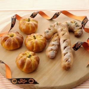 ハロウィンレッスン かぼちゃあんぱん&かぼちゃステッキ