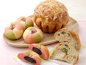 春色♡新作パン