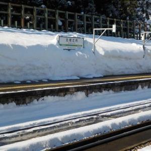 雪が上がって青空が