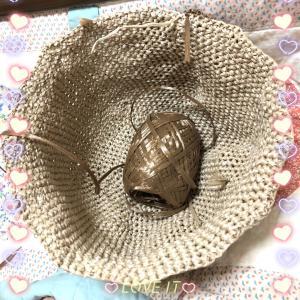 夏帽子編み直し♪
