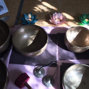 レイキ瞑想会とシンギングボウル
