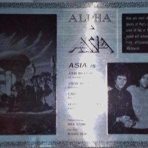 アルファ 国内盤 付録ステッカー