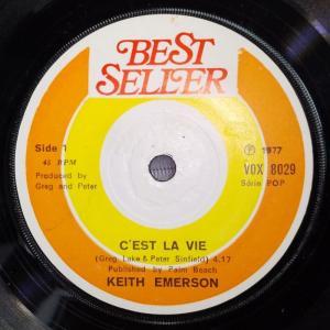 Keith Emerson トルコ製 シングルレコード