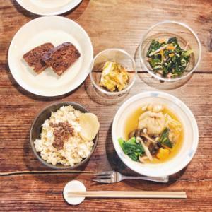 【マクロビオティック】2月の上級クラスのお料理