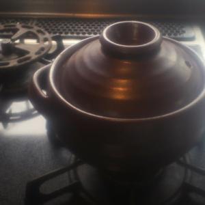 土鍋でごはん。