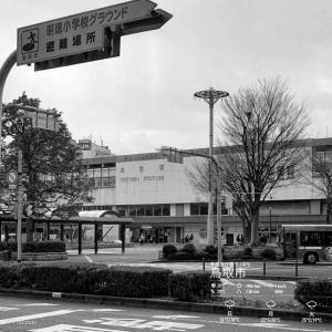 2020年7月11日(土)午前8時の気温25.8度、湿度84%、雨降りで迎える鳥取市滝山の朝です。 写真は過日の鳥取駅前です。