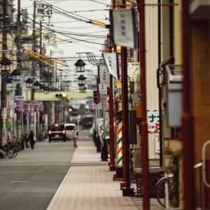 2021年1月26日(火)午前7時の気温3.9度、湿度90%、鳥取市若葉台の朝です。 写真は過日の鳥取市・川端銀座の一コマです。
