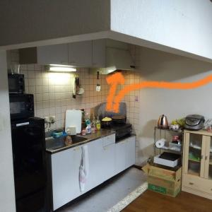 DIYやってみた!! ~キッチンとリビングの仕切り~