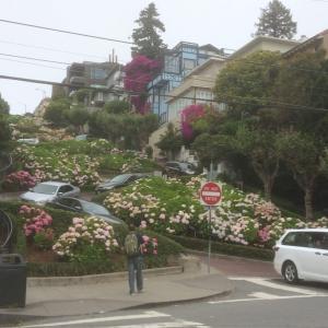 サンフランシスコ 〜ロンバートストリート
