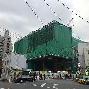 池上駅の建替え工事(進捗その2)