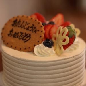 デコレーションケーキ♪
