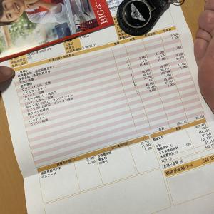 ベントレーの車検費用、617,400円