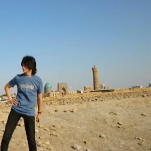 シルクロード、荒野とブハラの最古遺跡、アルク城