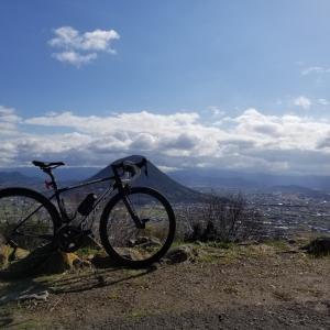 香川県青の山にサイクリング。ひさしぶりに乗ったので・・・