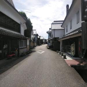 鹿島浜の酒蔵通り
