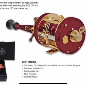 (NEW)アメリカ向けアンバサダー100周年記念モデル6500CDL
