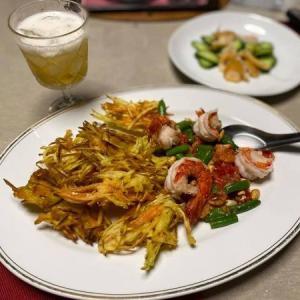 タイ料理を作る ソムタムトート