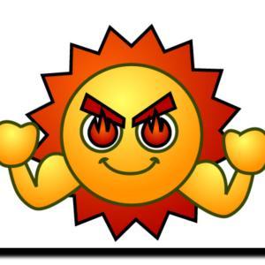 猛暑日‼️(汗)