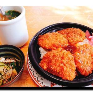 タレカツ丼⁉️