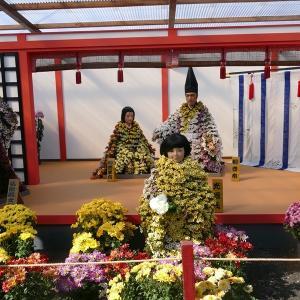 福島県二本松市 「霞ケ城菊人形まつり」