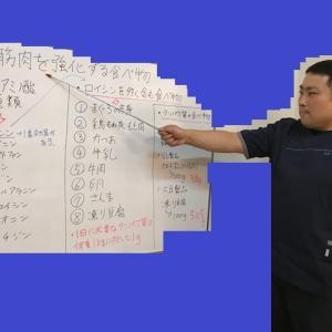 【火曜日の青森整体教室】 筋肉を強化する食べ物について勉強をしました。