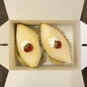 【マミー洋菓子店のケーキをいただきました。】
