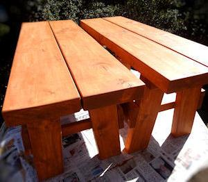 DIY ガーデンテーブル(12)