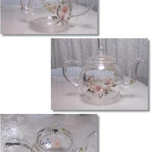 3月です、、ガラス作品と白磁作品