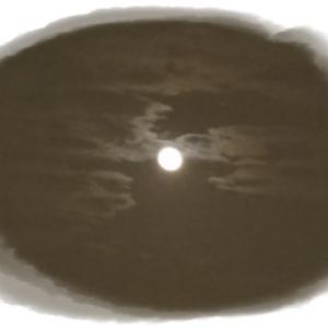 中秋の満月  レッスン