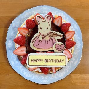 11歳バースデーケーキとプレゼント