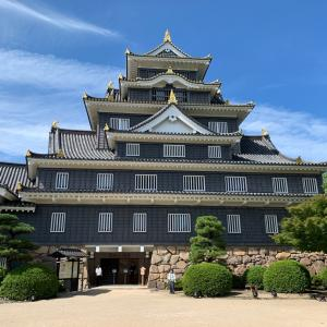 夏休みの旅行① 岡山城と後楽園