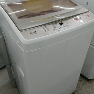 AQUA 7KGの洗濯機にゅうか!