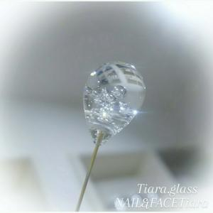 泡玉ガラスを溶かしてアクセサリー作り