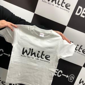 White Tシャツ ラストS.Lサイズです★伊勢市スタジオDEC→G
