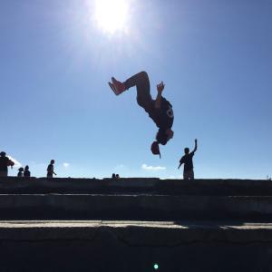 本日20時バク転教室★お得キャンペーン終了しますよ~ 伊勢市ダンススタジオDEC→G