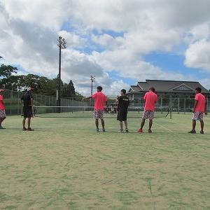 大隅地区クラブ対抗ソフトテニス大会。。。。