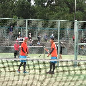 大隅地区ソフトテニス選手権大会。。。。
