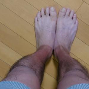 僕の足。。。。