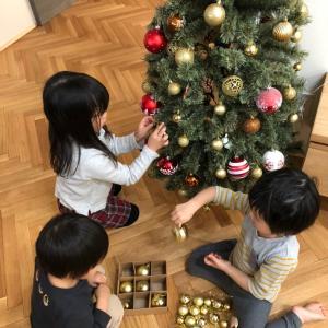 クリスマスツリーの飾り付け☆