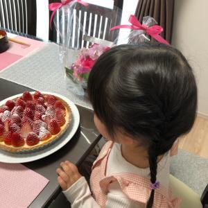 haruちゃん4歳のお誕生会☆