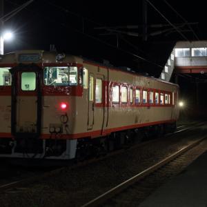 2020.10. 夜遊び~道南いさりび鉄道
